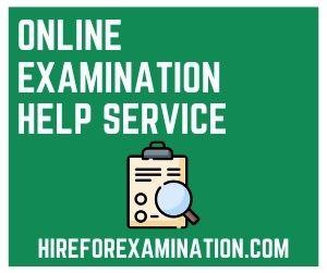 Online Examination Help Service
