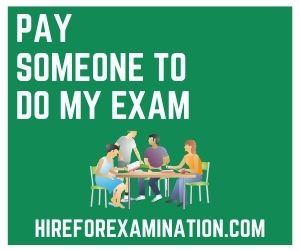 Pay Someone to Do My Exam