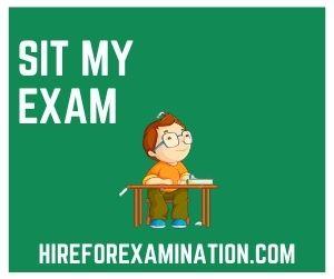 Sit My Exam